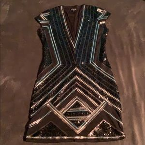 Gorgeous Express Sequin Dress